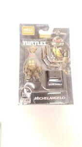 NEW 2021 Mega Construx Michelangelo Teenage Mutant Ninja Turtles Mini Figure