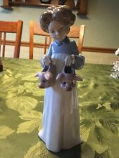 LLADRO #6420 MY FAVORITE SLIPPERS GIRL PIGS NIGHTGOWN Figurine