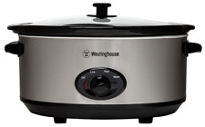 Westinghouse WHSC01SS 6.5L Slow Cooker - Stainless Steel Body