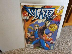 1994 Marvel Comics - Blaze #5 (Ghost Rider) - Larry Hama - Near Mint Condition