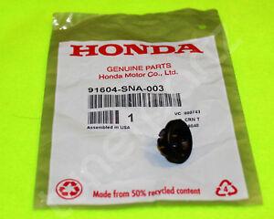 Genuine Honda Accord Civic CR-V Pilot Fit HR-V Hood Prop Rod Pivot Grommet SNA