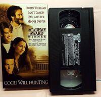 Good Will Hunting VHS Academy Award Winner, Williams, Damon, Affleck & Driver