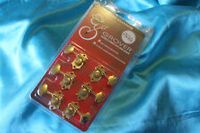 Grover Original Sta-Tite(R) Horizontal Tuners, Gold. Set of 6, MPN H97-18GA
