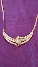 Beautiful .5 Ct Diamond Evening Necklace