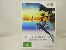 ENDLESS OCEAN 2: ADVENTURES OF THE DEEP Wii Game - AUS SELLER