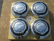 1970'S-80'S FORD 3/4 TON, 1 TON PICKUP TRUCK, VAN, DOG DISH HUBCAPS SET~4, ~NEW~