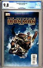 INVINCIBLE IRON MAN #12 - 1st full Rescue Pepper Potts - CGC 9.8 White Pages