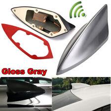 Gray Upgraded Signal Universal Shark Fin Antenna Car Roof FM/AM Radio Aerial