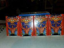 WCW NITRO TRADING CARD GAME 2 PLAYER STARTER LEVEL SET - Lot Of 4 Sealed Packs