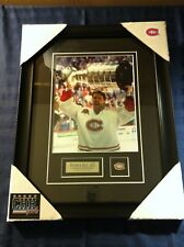 Patrick Roy Montreal Canadiens #33 Photo 8x10 unsigned Hockey Frame Cadre Cup