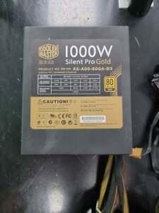 Cooler Master Silent Pro Gold 1000W Semi Modular Power Supply