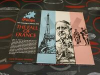 The Fall of France Game Designers Workshop GDW Europa VIII perfect  condition