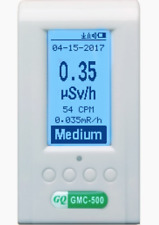 Radiation Detector GQ GMC-500 Nuclear Monitor Meter Geiger Counter