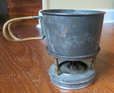 ANTIQUE TRAVEL LAMP & STOVE For Use By Field Nurses - Camping - In Bedrooms
