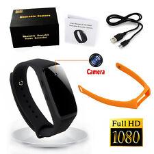 1080P Sport Smart Watch Spy Hidden Camera Wearable Mini Video Recorder DVR Cam