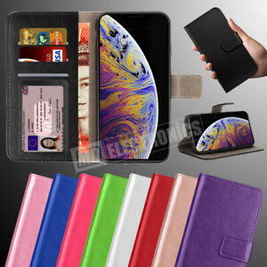 Case For iPhone 12 11 6 7 8 SE Plus XR XS Cover Real Genuine Leather Flip Wallet