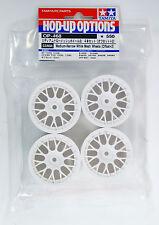 Tamiya 53468 (OP468) 24 mm Mesh Wheels (4 pcs/ White / +2mm offset)