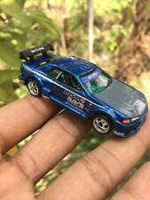 Hot Wheels Nissan R32 Skyline GTR Blue Sweet Rots Kustom