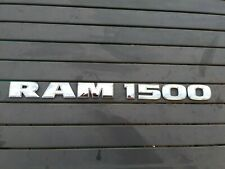 DODGE RAM 1500 EMBLEM NAMEPLATE BADGE DOOR 2013 - 2019 MOPAR. OEM. RETAPED