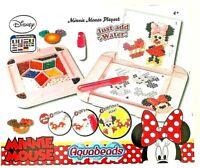 Disney Minnie Mouse Aqua Beads Playset - Age 4+ - Beads Crafts Creative - NEW
