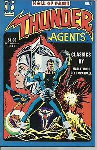 HALL OF FAME FEATURING T.H.U.N.D.E.R. AGENTS # 1 VERY FINE-FINE 1983