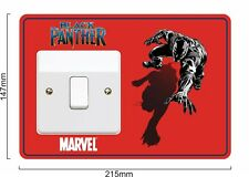 Black Panther - Light Switch Surround Sticker vinyl cover skin decal