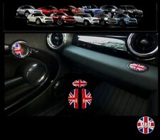BMW MINI One/Cooper/S R56 R57 R58 R59 UNION JACK Door Handle/Glove Box Covers