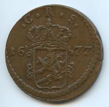Suède Charles XI Ore 1677 KM 264