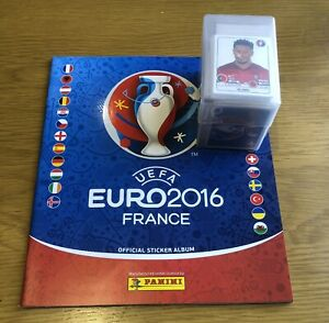 Panini Euro 2016 Loose Set And Empty Album