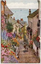 Unposted J Salmon Collectable Devon Postcards