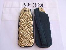 sd134 Schulterstücke Schützen Major grün auf grün 1 Paar