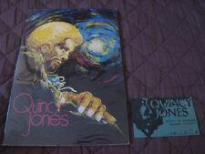 Quincy Jones 1973 Japan Tour Book with Ticket Stub Bobby Bryant Clark Terry