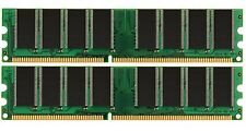 2GB (2 x 1GB) 1024MB PC3200 DDR RAM Desktop MEMORY 400MHz low density NON-ECC