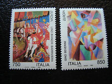 ITALIE timbre yvert et tellier n° 2011 2012 n** (A4) stamp italy
