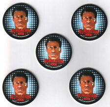 Demolition Man Movie Trading Cards Promo Pogs Set of 5 Skybox 1993 MINT