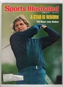 1977 8/27 Sports Illustrated magazine Lanny Wadkins, PGA Championship Golf VG