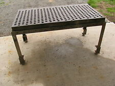 "3' X 6' ACORN  Type Welding/Platen/Layout Table w/ Stand (39"" high)"