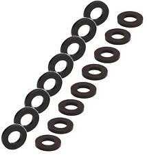16 Stück Unterlegscheiben M6 schwarz DIN 125 Kunststoff Polyamid U-Scheiben NEU