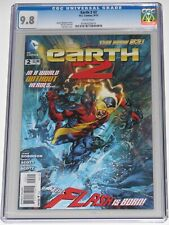 Earth 2 #2 CGC 9.8. Alan Scott revealed as gay. 8/12. HBO Max Green Lantern.
