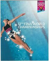 2007 PRESENTATION STAMP PACK 'FINA WORLD CHAMPIONSHIPS' MINI SHEET 10 x 50c MNH