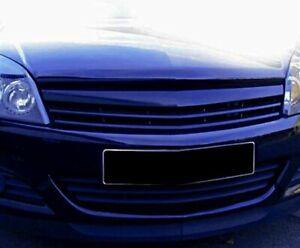 Pour Opel Astra H Calandre Avant Grille Noir Sans Sigle Berline OPC 2004-2007