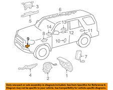 TOYOTA OEM Airbag Air Bag SRS-Front Impact Sensor 8917309620