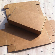 11x6x2.2cm Brown Kraft Paper Package Box Gifts Craft Wedding Favors Packing Box