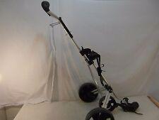 Bag Boy 440 Silver Black Wheeled Folding Light Weight Golf Club Cart Caddy 33812