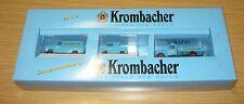 "Brekina 2953, ""Krombacher"", Set Nr. 2 (Ford Transit/Goggo/Hanomag),1/87, NEU&OVP"