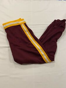 Vintage Athletic Softball Baseball Maroon w/Gold Pants Men's Adult Size 34