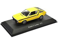 1972 RENAULT 17 GORDINI en jaune - 1/43 Scale Model Atlas Editions