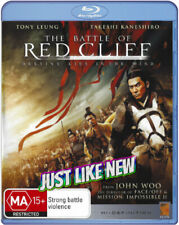 John Woo's 🔹 THE BATTLE OF RED CLIFF 🔹 (Blu-Ray,B) Destiny Lies in the Wind