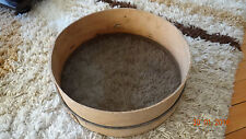 13 inch Traditional Wooden Framed Synthetic Mesh Flour Sieve/Sifter.Kitche