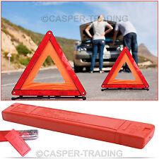REFLECTIVE WARNING SIGN FORDABLE TRIANGLE CAR HAZARD BREAKDOWN EU ROAD EMERGENCY